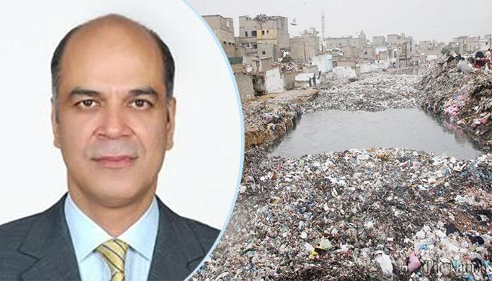کراچی کے برساتی نالوں اور اطراف میں کچرا پھینکنے پر 2 ماہ کیلئے پابندی